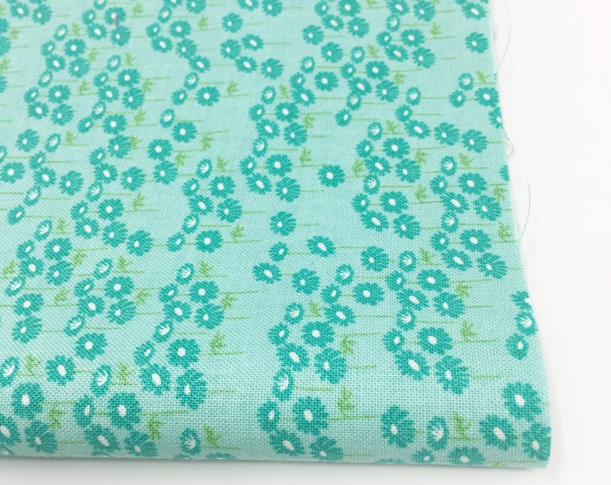 Fabric by the Yard, Flora and Fauna Fabric by Riley Blake, Cute Fabric, Girl Quilt Fabric,Flora and Fauna green floral, choose the cut