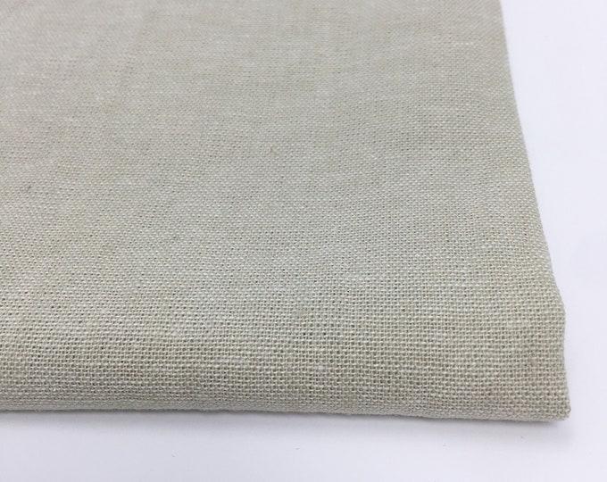 Essex Linen, Essex Yarn Dyed, Apparel Fabric, Light fabric, Linen Blend fabric, Linen fabric, Robert Kaufman, Essex in Limestone