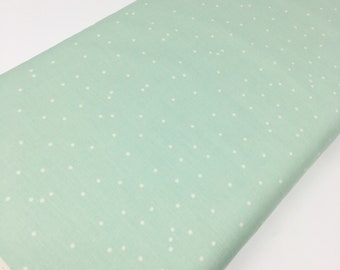 Hello Bear fabric by Bonnie Christine for Art Gallery Fabrics, Mint Ivory - Firefly Sigh, You Choose the Cut