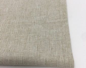 Essex Linen Homespun, Linen Blend fabric, Essex Yarn Dyed, Apparel Fabric, Dress fabric, Yarn Dyed fabric, Essex Homespun in Limestone