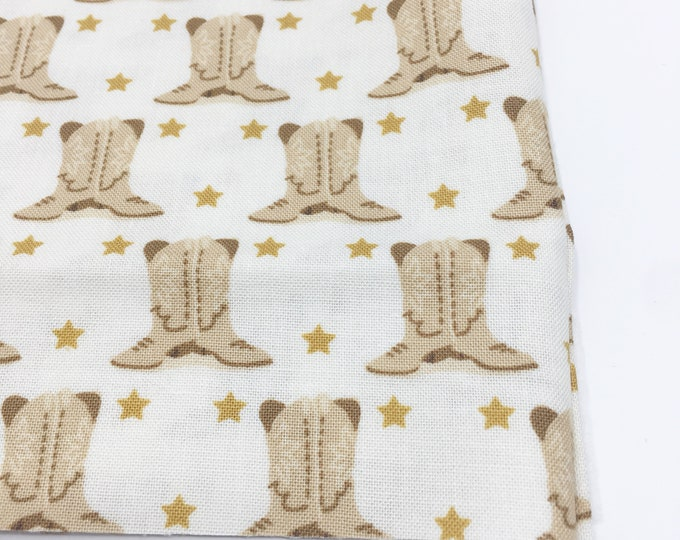 SALE fabric, Cowboy Western fabric, Quilting fabric, Sewing fabric, Gift for her, Discount fabric, Quilt fabrics, Cotton Fabric by the Yard