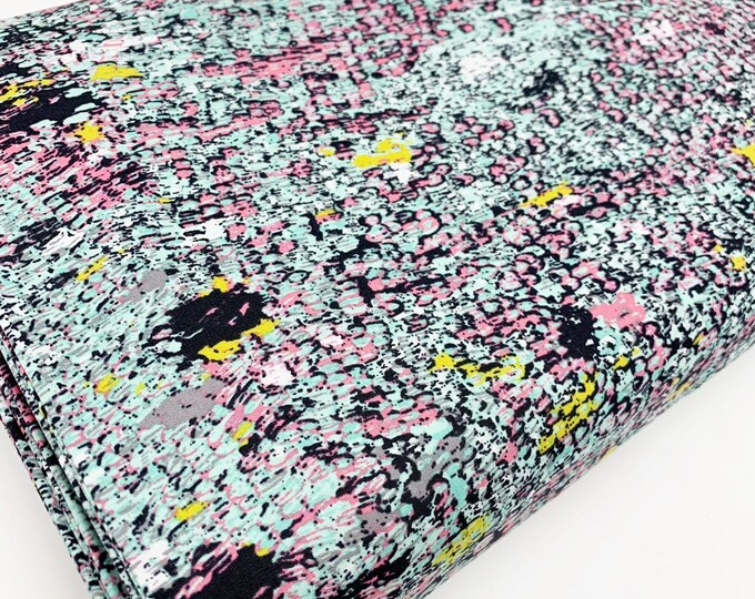 Quilt Fabric by the Yard, Grid Fabric, Floral Geometric fabric by Art Gallery Fabrics, Grid Collection, Choose your cuts