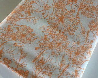 Sale fabric, Quilting or Sewing fabric, Gift for her, Orange Discount fabric, Quilt fabrics, Fabric Shoppe