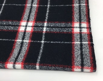 Cotton Woven Fabric, Mammoth Plaid Flannel Fabric, so soft and perfect for baby blanket for boy or girl