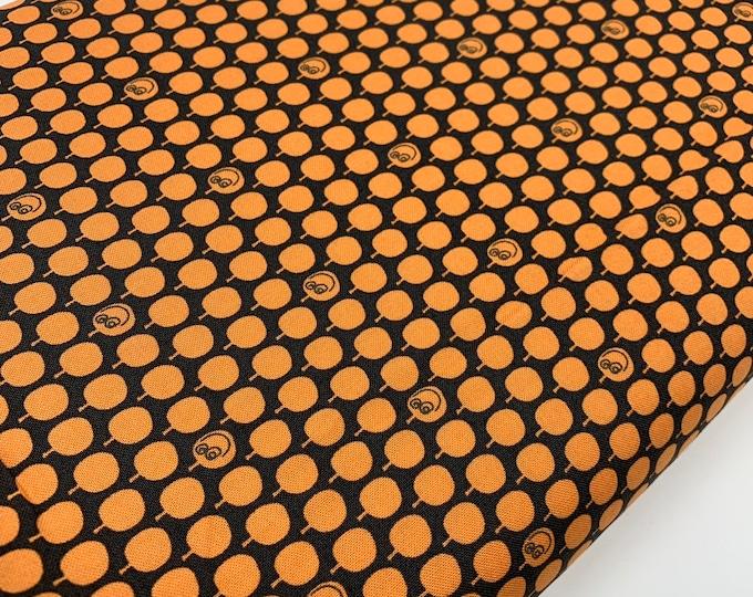 Halloween fabric, Halloween Decor, Halloween party fabric, Happy Pumpkins in Orange, Choose the cut