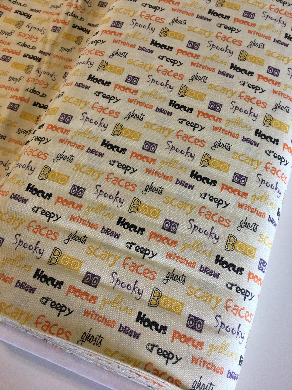 Halloween fabric Hocus Pocus Fabric Shoppe fabrics halloween