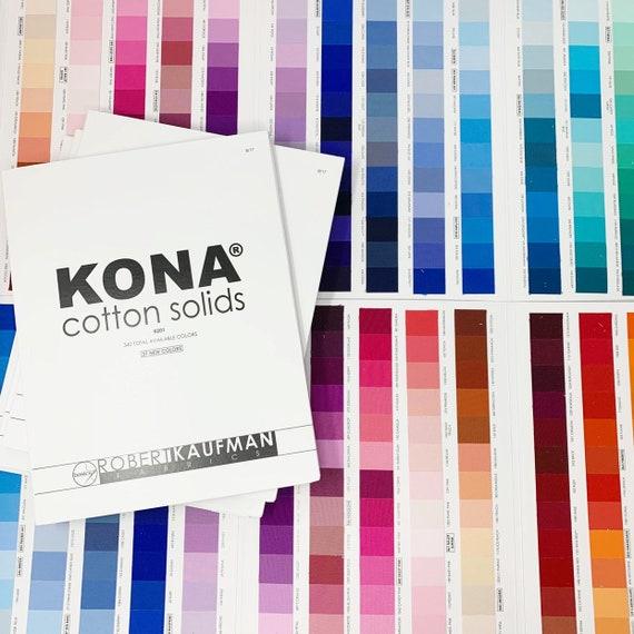 Tissu de Coton Robert Kaufman Kona Cotton Solid-fer-Fat Quarter