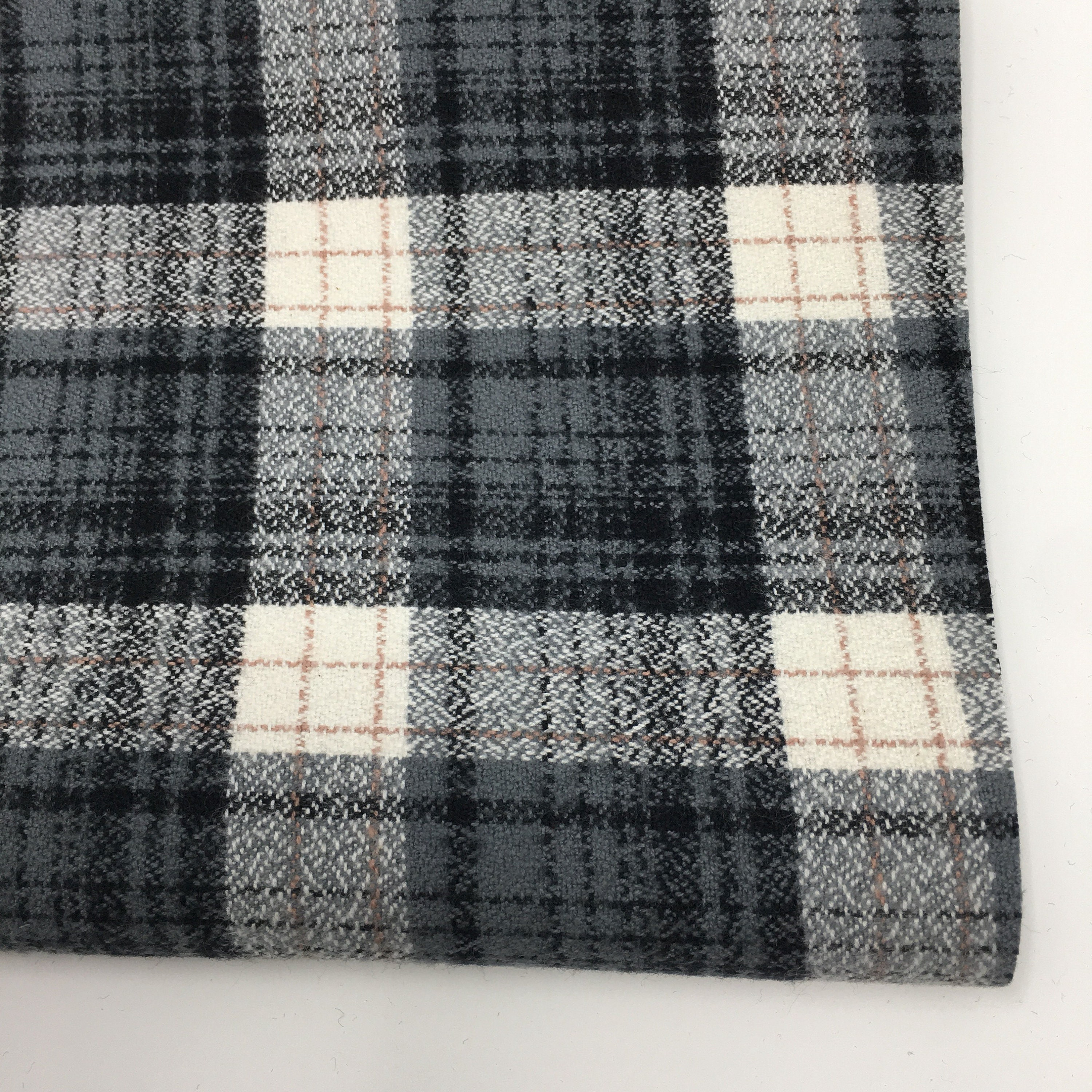 815a8b85ced10 Gray Plaid, Mammoth Plaid Flannel, Gray Plaid, Christmas Flannel ...