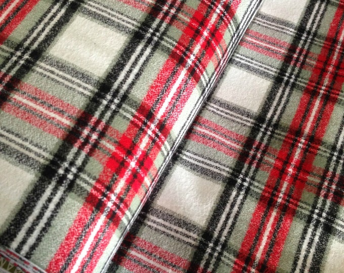 Make Baby Blanket, Red Flannel for Her, Upholster It, Blanket Making Fabric for Mom, Make Flannel Jacket, Cute Cloth to Make Kids Clothes