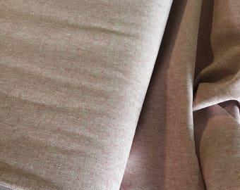 SALE fabric, Essex Linen, Essex Yarn Dyed, Apparel Fabric, Cotton fabric, Pink Fabric, Linen fabric, Robert Kaufman, Essex in Berry
