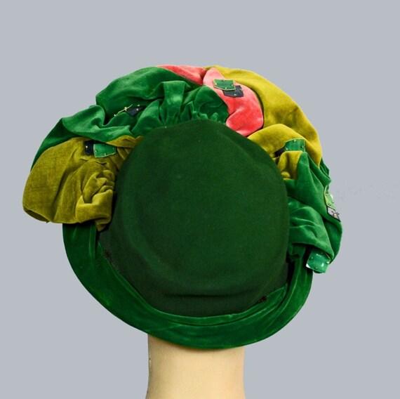 Frances & Walter Nelkin 40s Profile Hat Vintage J… - image 5