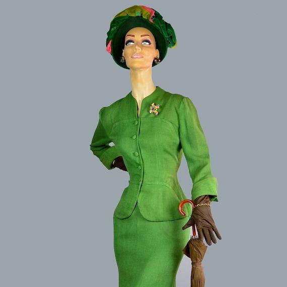 Frances & Walter Nelkin 40s Profile Hat Vintage J… - image 4