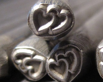 Design Stamp - DOUBLE HEART