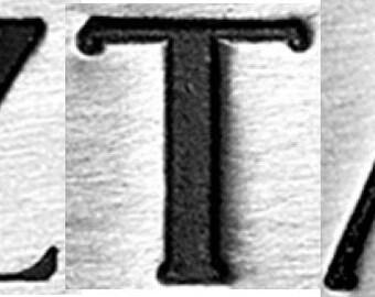 Design Stamps - SORORiTY Zeta Tau Alpha (Zeta) 6mm by ImpressArt -  includes How to Stamp Meta