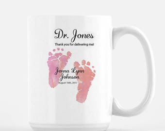 baby doctor gift, OBGYN mug, OBGYN gifts, OBGYN thank you gift