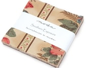 Southern Exposure Moda Charm Pack, 42 - 5 quot precut fabric quilt squares by Laundry Basket Quilts