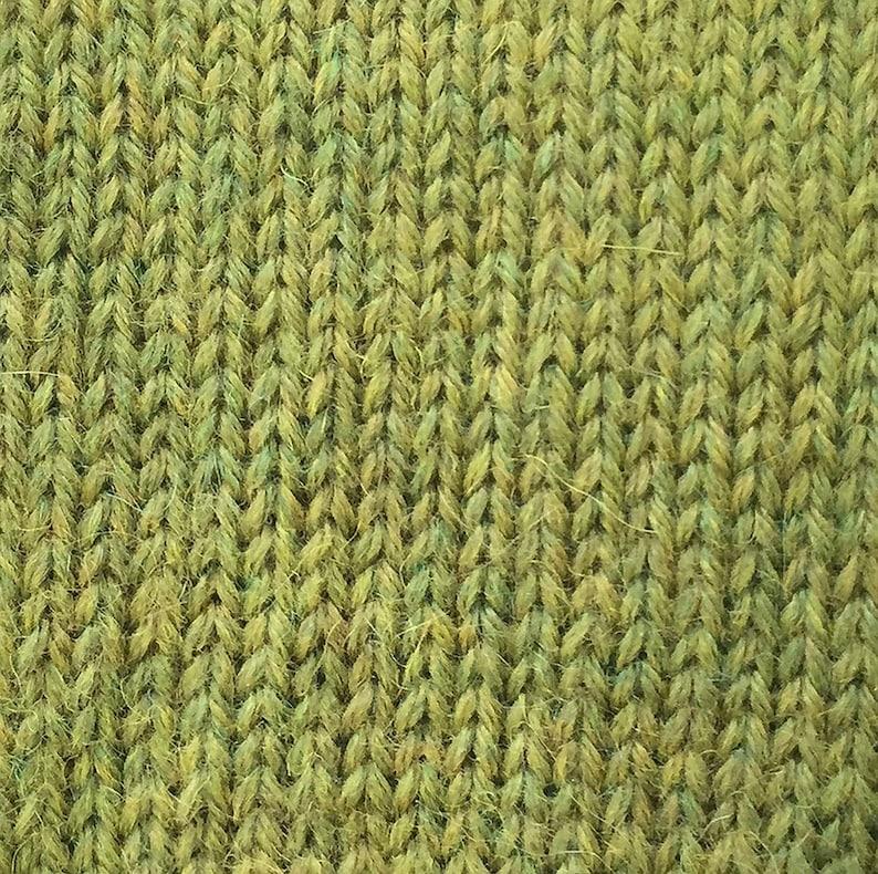 Anjou Green Classic Alpaca 100/% Baby Alpaca Yarn #1470 by The Alpaca Yarn Company 110 yds per 50g