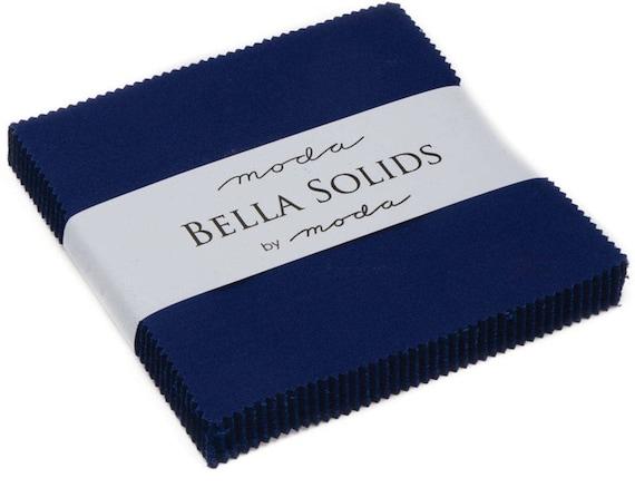 Moda Bella Solids Charm Pack Light Blue 9900PP-25