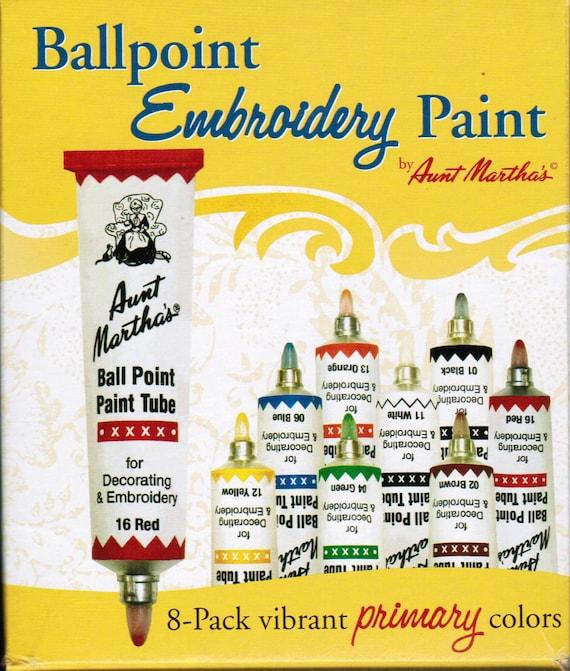Tía Martha bolígrafo arrancador bordado pintura 8 pack de | Etsy