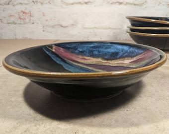 Pasta Bowl - Handmade Stoneware - Northern Lights Series