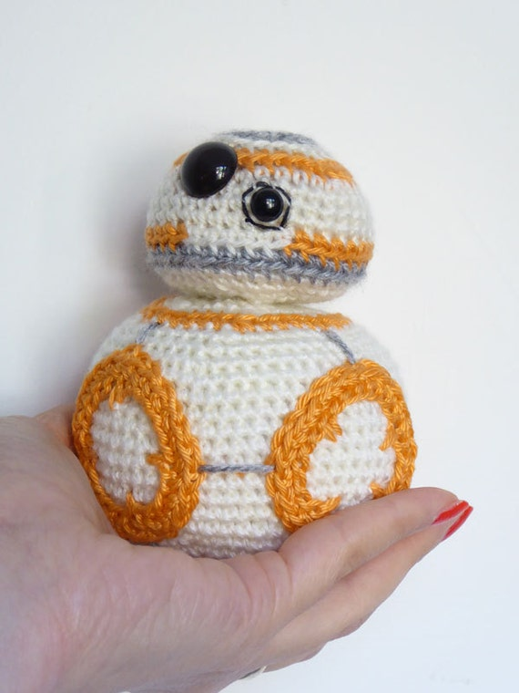 Star Wars BB-8 Crochet Pattern BB8 Amigurumi Pattern Make | Etsy