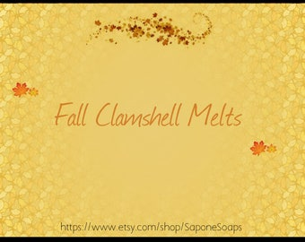 Fall Clamshell Melts - Assorted