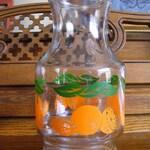 Anchor Hocking Orange Juice Carafe Pitcher