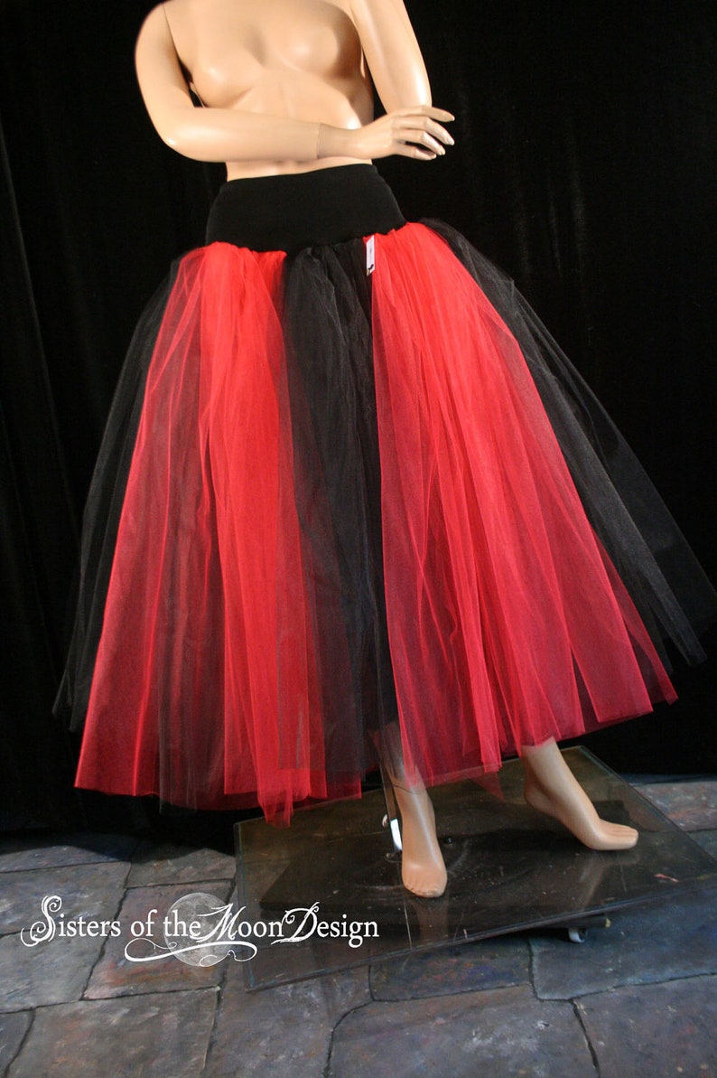 073fe48cfe Floor Length Black Tulle Skirt – DACC