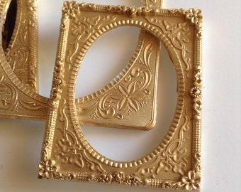 Faux ornate frame