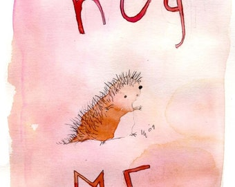 Hug me (greeting card)