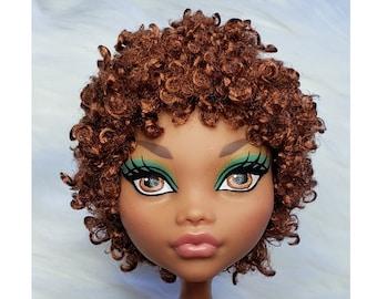 TABLOACH Custom WIG for your Monster High doll Irish Setter 2590
