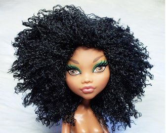 TABLOACH Custom WIG for your Monster High doll 6133