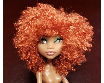 TABLOACH Custom WIG for your Monster High doll