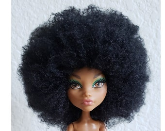 TABLOACH Custom WIG for your Monster High doll afro