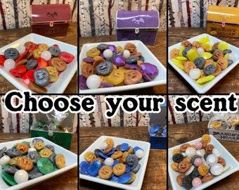 Dragon's Hoard Wax Melts - Choose Your Scent - Gemstone Scents - Fantasy Wax Melts - Paraffin Wax Melts - Nerdy Gift - Wax Warmer - DND