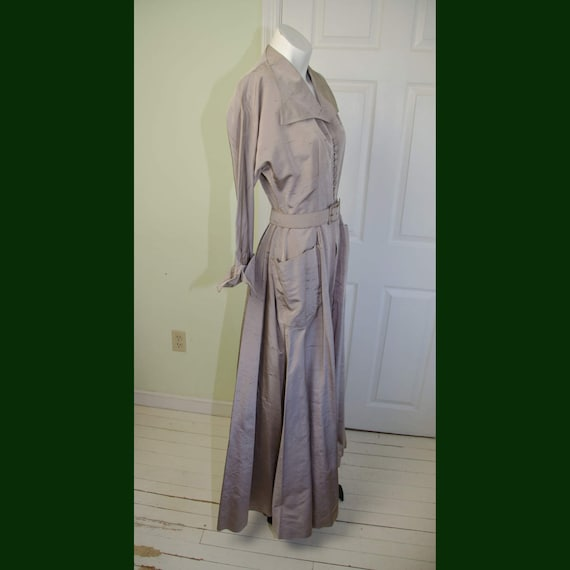 Rare Vintage Tom Brigance 1950's Long Dressing Gow