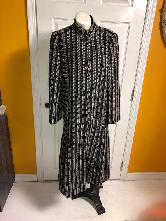 1980's Pauline Trigere 20 Style Wool Coat