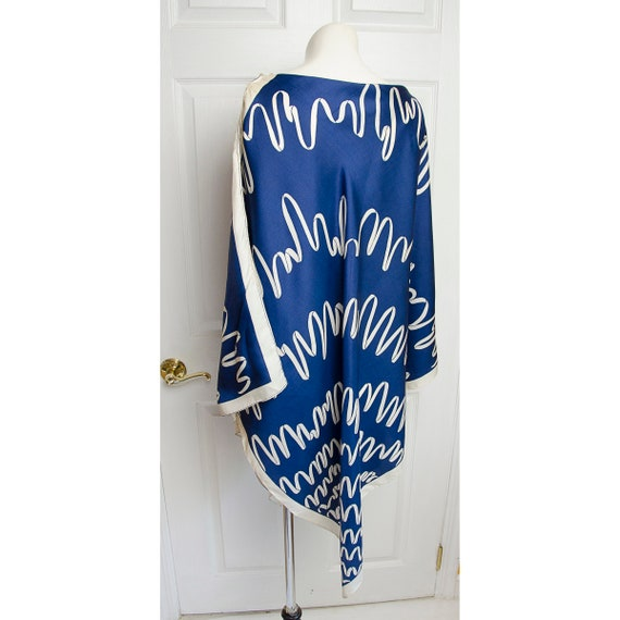Rare Vintage Pauline Triggere Scarf Beach Coverup - image 5