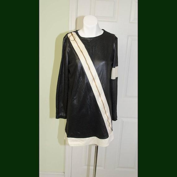 1960's Vintage Designer Oscar De La Renta Dress Sw