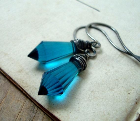 Blue Crystal dagger