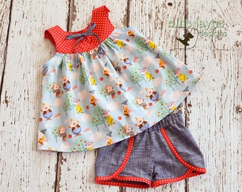 The Mine Train outfit Top and Shorts custom sizes