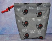 Mask Available IT Pennywise You 39 ll Float Too Cloth Drawstring Bag for Tarot Dice Makeup RPG Warhammer