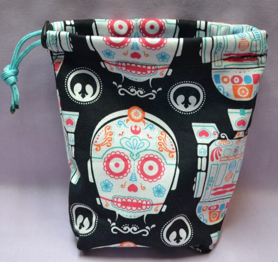 C3PO and R2D2 Drawstring Bag Star Wars