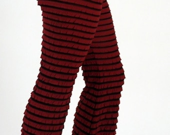 Ruffled Pants PLUM SALE
