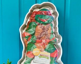 Superb Vintage Ninja Turtles Birthday Party Etsy Personalised Birthday Cards Petedlily Jamesorg