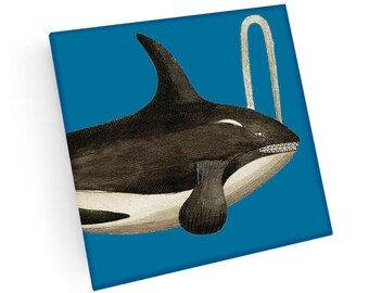 b13c3d7b7 Whale coasters | Etsy