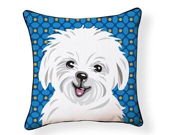 Pooch Décor: Maltese Pillow