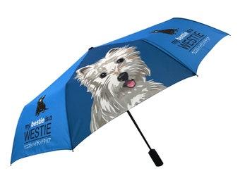 Special Edition: my BESTIE is WESTIE West highland Terrier Umbrella