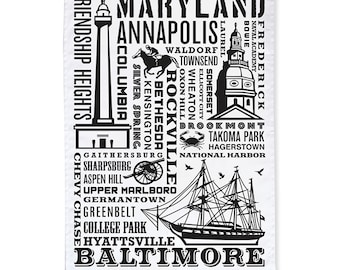 Maryland Tea Towels