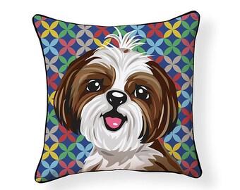 Pooch Décor: Shih Tzu Pillow